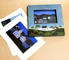 Jeremenko Theodore Painting Art Cards Print House Landscape Set /5 Painted Frame