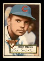 1952 Topps Set Break # 172 Eddie Miksis GD *OBGcards*