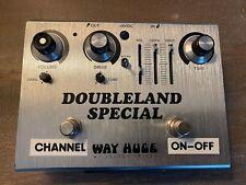 Way Huge DoubleLand special Dual Overdrive signed by Joe Bonamassa