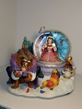 1991 Disney's Beauty & the Beast Musical Snowglobe EXTREMELY RARE Edition