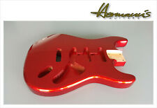 Stratocaster avoisinantes Body, Alder Body, Finish High Gloss Candy Apple Red