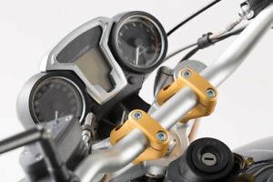 SW-Motech Dorée Adaptateur de Guidon Pour BMW R Ninet 20mm / 30mm Neuf