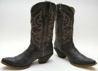 Women's Durango Crush Rock 'n Scroll BROWN Western Cowboy Boots RD5514 SZ 10 M