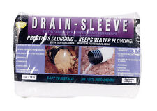 Drain Sleeve  10 ft. L x 4 in. Dia. x 5/8 in. Dia. Polyester  Filter Fabric Sock
