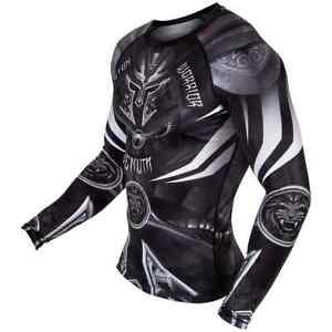 Venum Gladiator 3.0 Rashguard - Long Sleeves Compression UFC