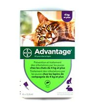 Bayer ADVANTAGE PURPLE for Cats Over 9 lbs (4-Pack)