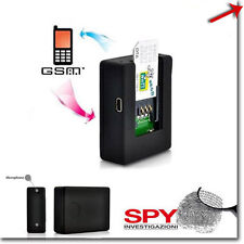 MICROSPIA AMBIENTALE N9 GSM MICRO ATTIVAZIONE AUDIO VOCALE CIMICE SIM CARD SPIA