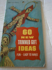 60 New Trimmed Gift Ideas Craft Book Easy To Make Christmas Stocking Ornaments