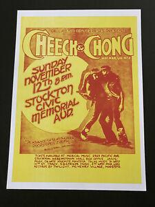 Cheech & Chong A4 Poster