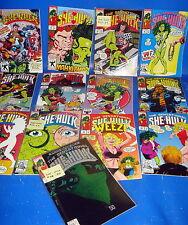 Lot de bandes dessinées SHE-HULK John Byrne edition americana-13 numéros
