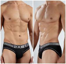 2xist Black Brief Men's Underwear Black Sexy & HOT! FAST SHIPPING!! Size S & M