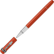 PENNA ROLLER BALL PEN MONTBLANC HERITAGE COLLECTION ROUGE ET NOIR corallo 114726
