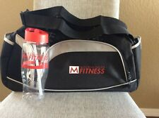 Mountainside Fitness Phoenix Gym Bag & Water Bottle