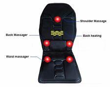 Universal Winter Warm 2 In 1 Auto Car Seat Cover Cushion W/ Warm Heated &Massage