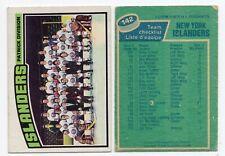 1X BOSTON BRUINS TEAM CHECKLIST 1976 77 O Pee Chee #142 EX+ UNMARKED Lots Availa