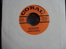"""JOHNNY BURNETTE Burnette/Drinking Wine Spo-Dee-O-Dee 7"""" 45 NEW reissue"""