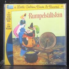 "The Brothers Grimm - Rumpelstiltskin 7"" SS Vinyl 45 Disneyland 204 USA 1976"