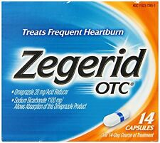 Zegerid OTC Capsules Treat Frequent Heartburn, 14 Each