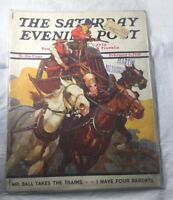 The Saturday Evening Post Feb 6, 1937 Mr. Ball Takes the Trains  Stagecoach