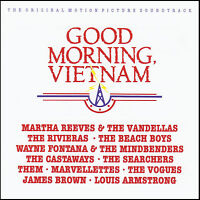 GOOD MORNING VIETNAM - SOUNDTRACK CD ( ROBIN WILLIAMS ) LOIS ARMSTRONG *NEW*