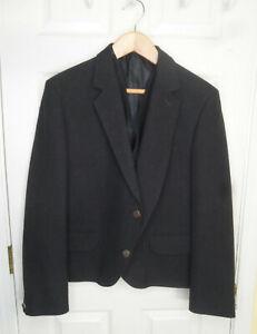 Appears Unworn! Kinloch Anderson Charcoal Grey Kilt Jacket & Waistcoat 46L