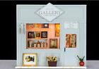 Miniature DIY Dollhouse 3D Kit w/Light Mini Wooden House Model Handwork Gallery