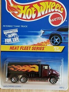 Hot Wheels 1997 Peterbilt Tank Truck 539 Brown/Black