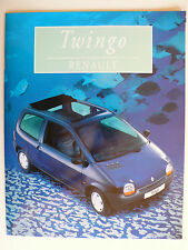 Prospectus renault twingo/Easy/Matic, 8.1996, 24 pages, lustre, plus grand a4