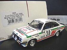 FORD Escort MK2 RS2000 Rallye Monte Carlo 1979 #30 Beguin C La KWS Trofeu 1:43