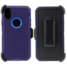 For Apple iPhone 10 or iPhone X Case Cover (Belt Clip fits Otterbox Defender)