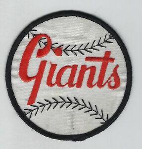 1960's San Francisco Giants 3.75-Inch Diameter Uniform Patch