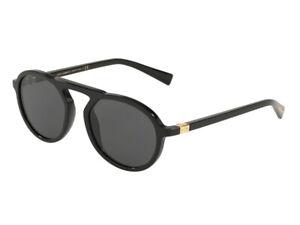 Lunettes de Soleil DG4351 Gris Noir 501/87 Dolce & Gabbana Authentique