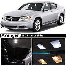13x White Interior LED Lights Package Kit For 2008 2014 Dodge Avenger