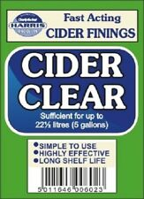 Harris Filters Cider Clear finings for home brew cider Issinglass.