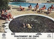 ANNIE GIRARDOT  ALAIN DELON TRAITEMENT DE CHOC 1973 PHOTO D'EXPLOITATION #8