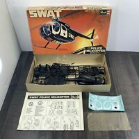 VINTAGE Revell SWAT POLICE HELICOPTER 1:32 Scale Model Kit no. H-161 1977 RARE