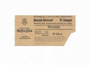 1980/81 BORUSSIA DORTMUND v LIVERPOOL (1966 ECWC Final Replay in Dortmund)