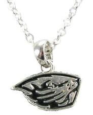Oregon State Beavers Silver Necklace Jewelry OSU Officially Licensed