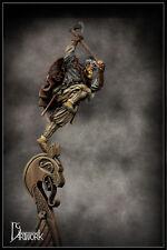 DG Viking Warrior en la proa ilustraciones de embarcación 75 mm figura sin pintar KIT