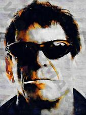 LOU Reed Perfect Day art print poster dipinto ad olio lff0112