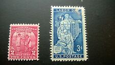 ARBOR & LABOR DAY  2 & 3 CENTS VINTAGE UNITED STATES POSTAGE STAMPS LOT of (2)