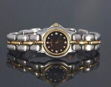 Bertolucci 24mm Pulchra 18K Oro Giallo Acciaio Quadrante con Diamanti