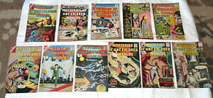 Mysteries of Unexplored Worlds~11 issues,#16-1/60 to #35-4/63~Nice Group
