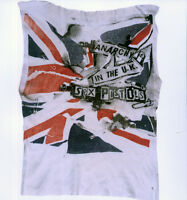 SEX PISTOLS ANARCHY IN THE UK T-SHIRT POSTER PAGE . P10