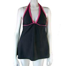 MAINSTREAM Swimdress 10 Halter Empire Underwire Soft Bra Liner Swimsuit Swim