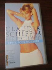 Claudia Schiffer Perfectly Fit Upper Body Workout VHS Video Tape (NEW)