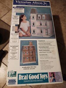 Vintage Real Good Toys VICTORIAN ALISON JR DOLLHOUSE J-M907 9 Rooms sealed box