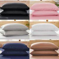 Pillow Case Set Queen (standard) or King Pillowcase 1/2set Pillow Cases New