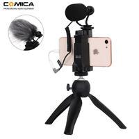 CoMica CVM-VM10-K2 Smartphone Video Kit Filmmaker Mini Tripod with Microphone