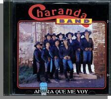Charanda Band - Ahora Que Me Voy - New 1993, 10 Song, Spanish CD!